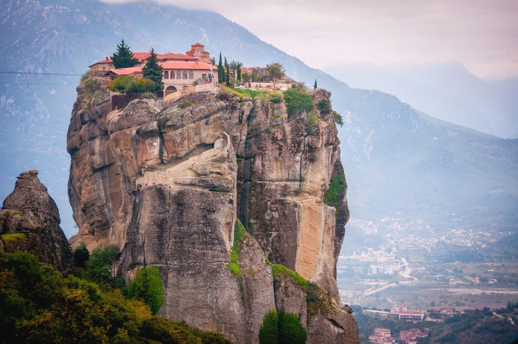 meteora-greek-unesco